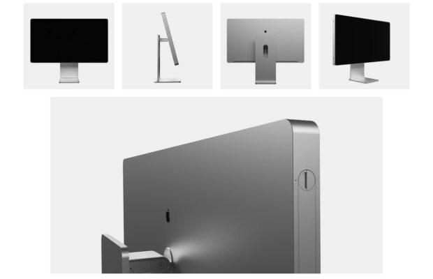 iMac Pro concept met Pro Display XDR scherm