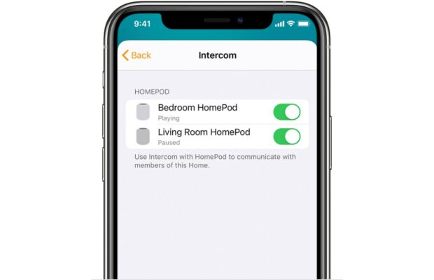 intercom homepod apple gebruiken 2