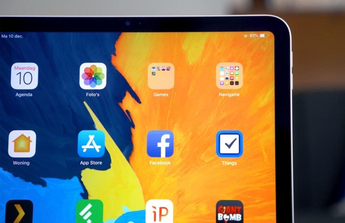 Gerucht: iPad Pro met mini-led-scherm verschijnt begin 2021