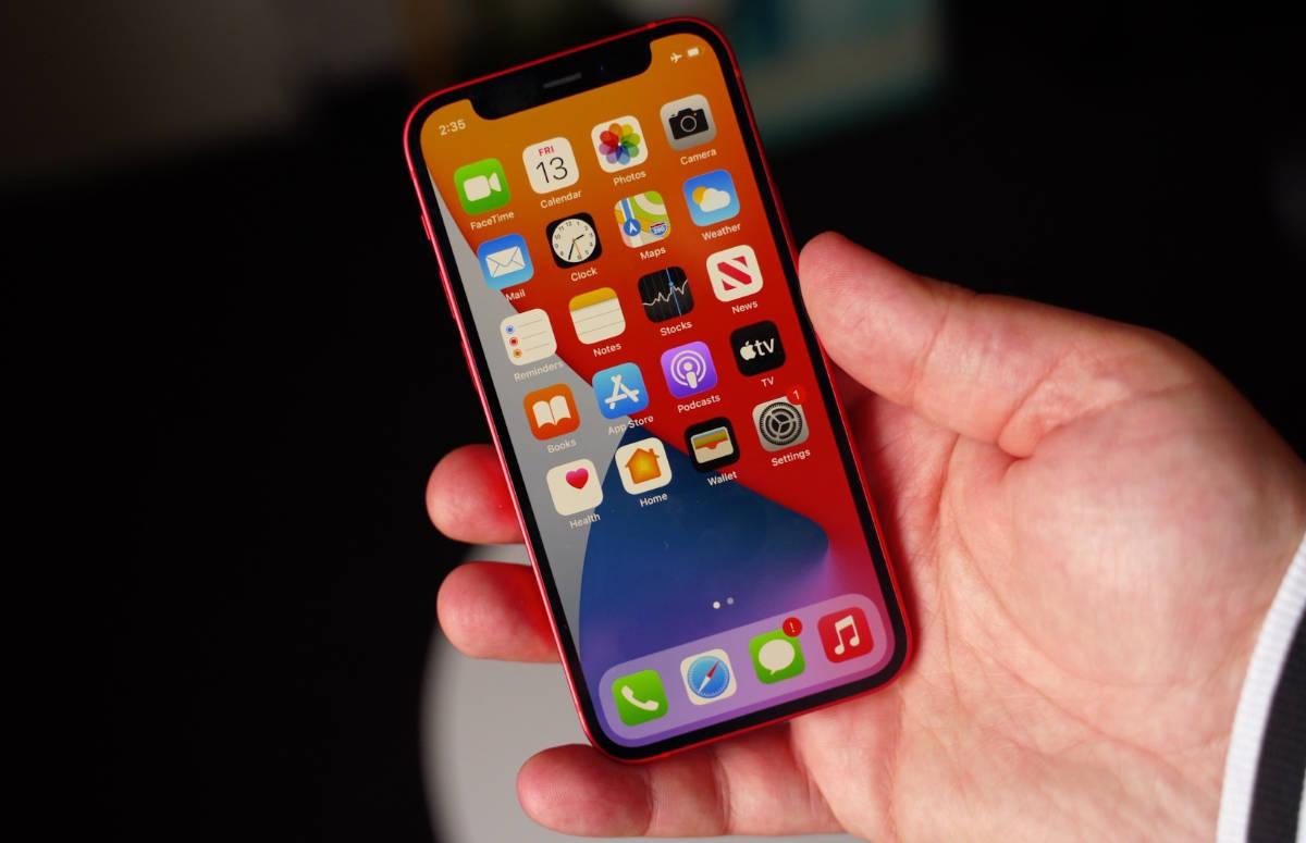 'Touchscreen iPhone 12 mini reageert slecht tijdens ontgrendelen'