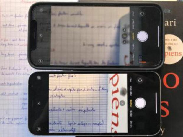 iPhone 12 Pro autofocus