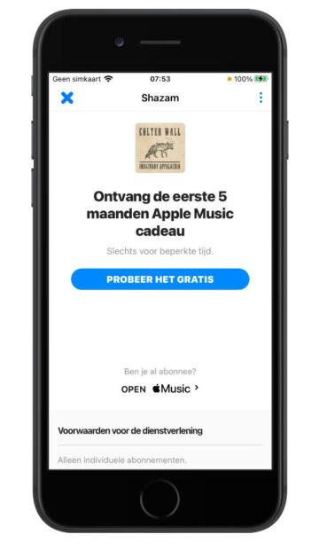 Shazam Apple Music