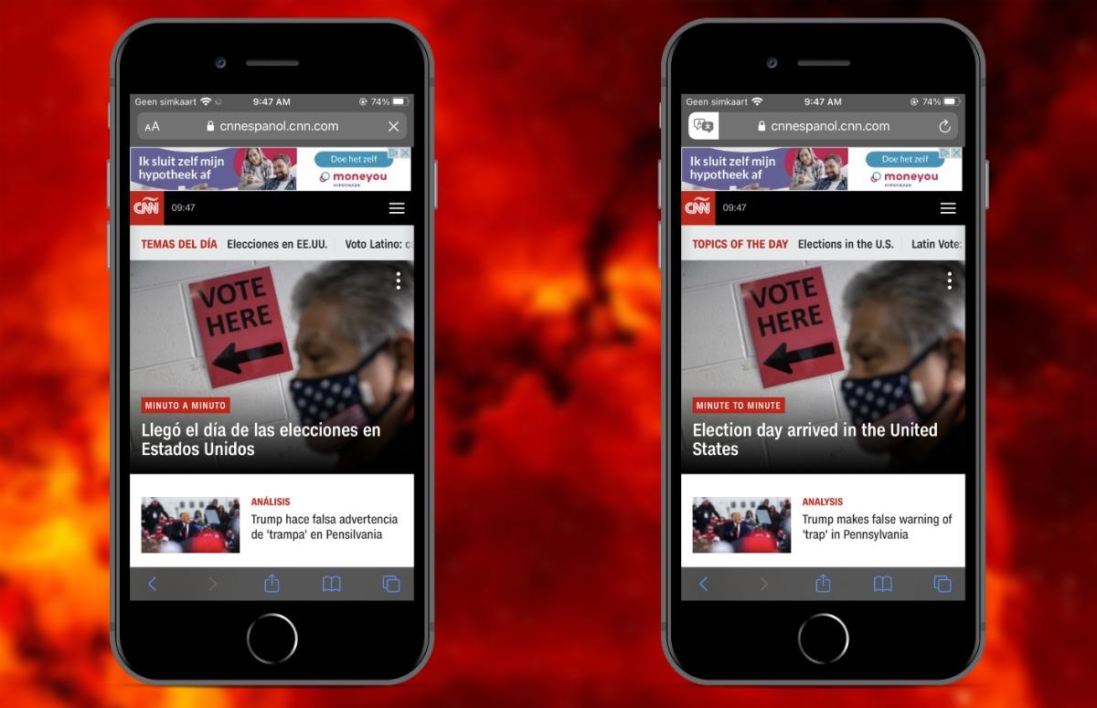 Websites vertalen met je iPhone en iPad: zo werkt het