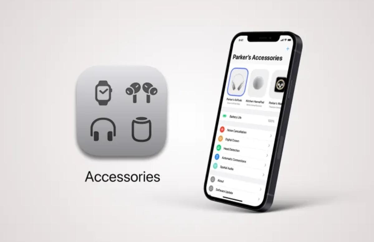 Hoe één app voor al je Apple-accessoires eruit kan zien
