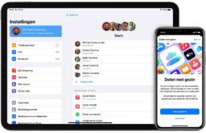 app-abonnementen delen met gezin