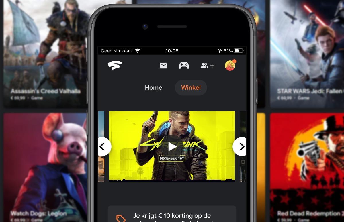 Google Stadia nu verkrijgbaar voor iPhone en iPad: zo werkt de Apple Arcade-concurrent