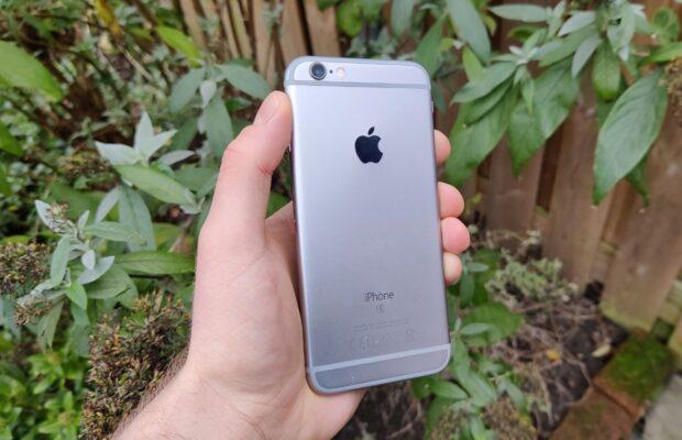 iPhone 6S 2021 review update voorbeeldfoto's