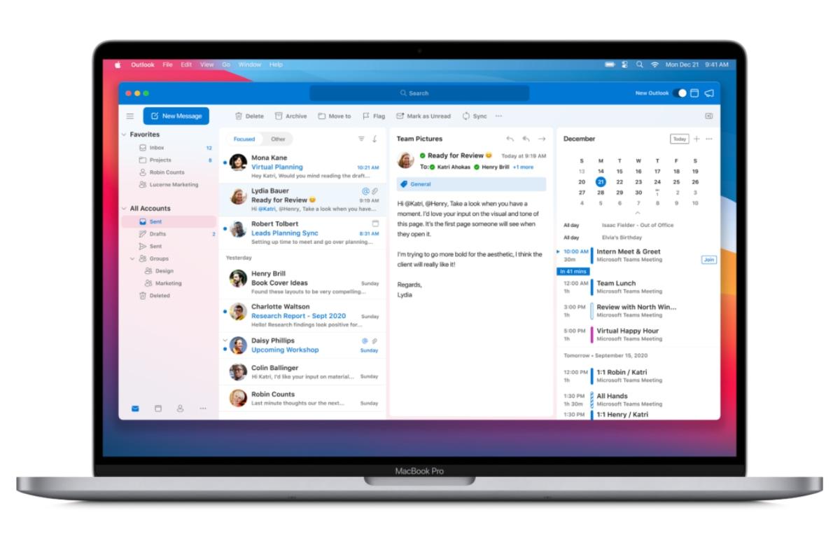Microsoft Office-apps ondersteunen M1-Macs, Outlook werkt nu met iCloud