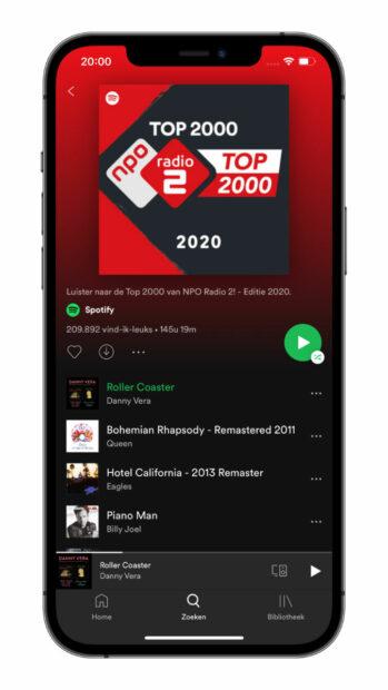 top 2000 luisteren 2020