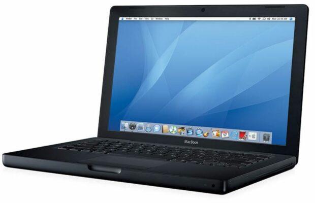 Patent matzwarte MacBook