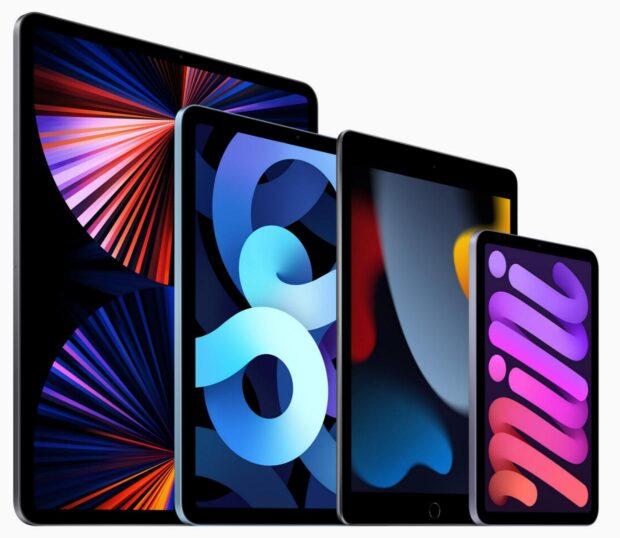 iPad-familie 2021