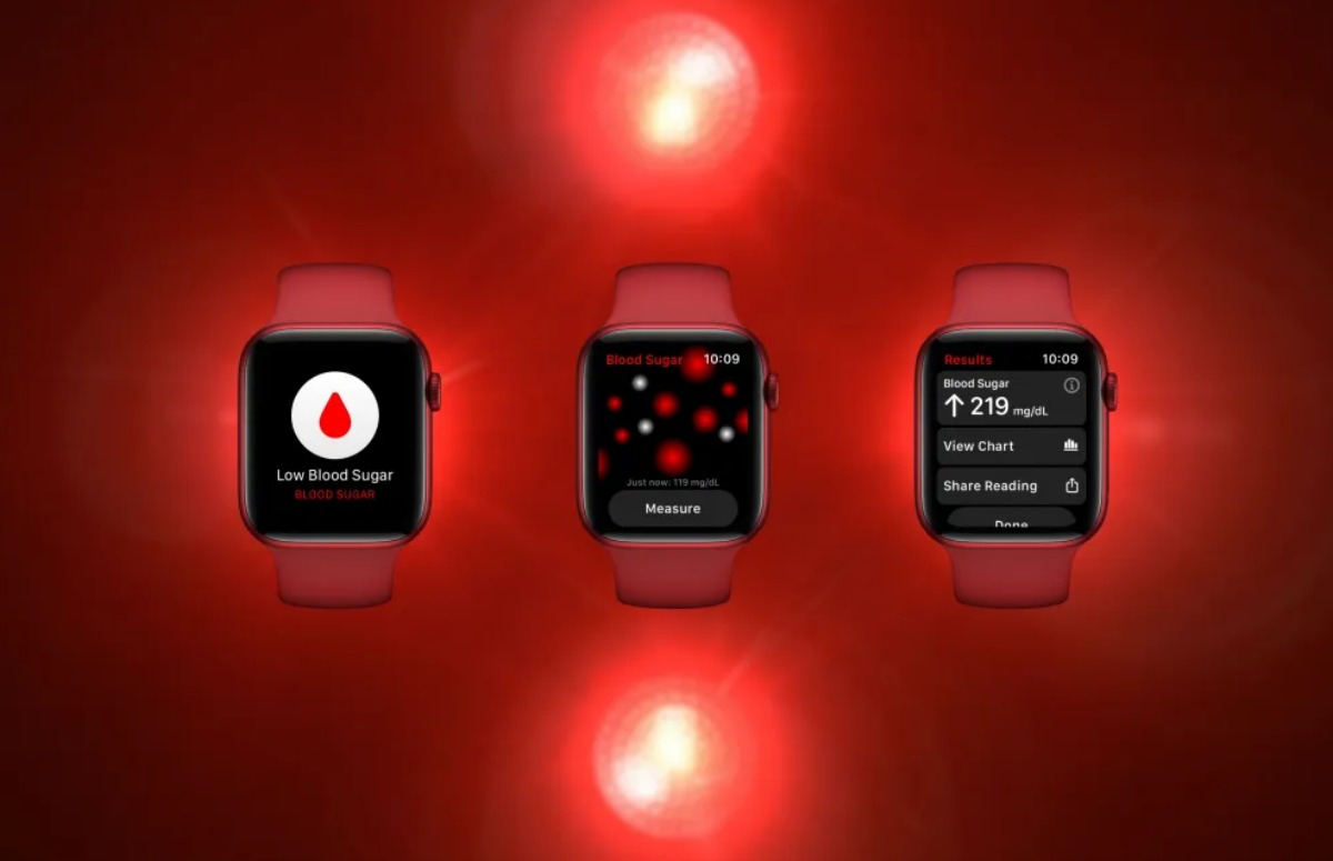 'Zo ziet de bloedsuiker-app van de nieuwe Apple Watch eruit'