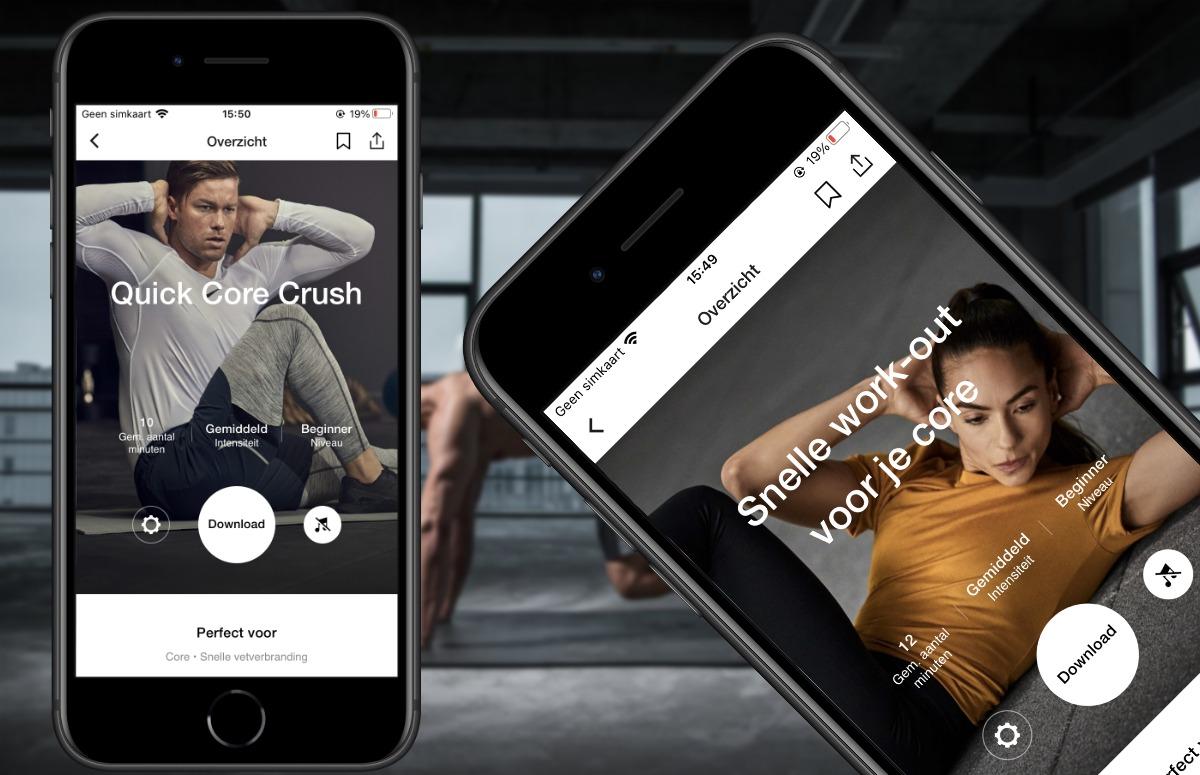 Fit worden zonder sportschool: dit zijn de 4 beste fitness-apps voor thuis