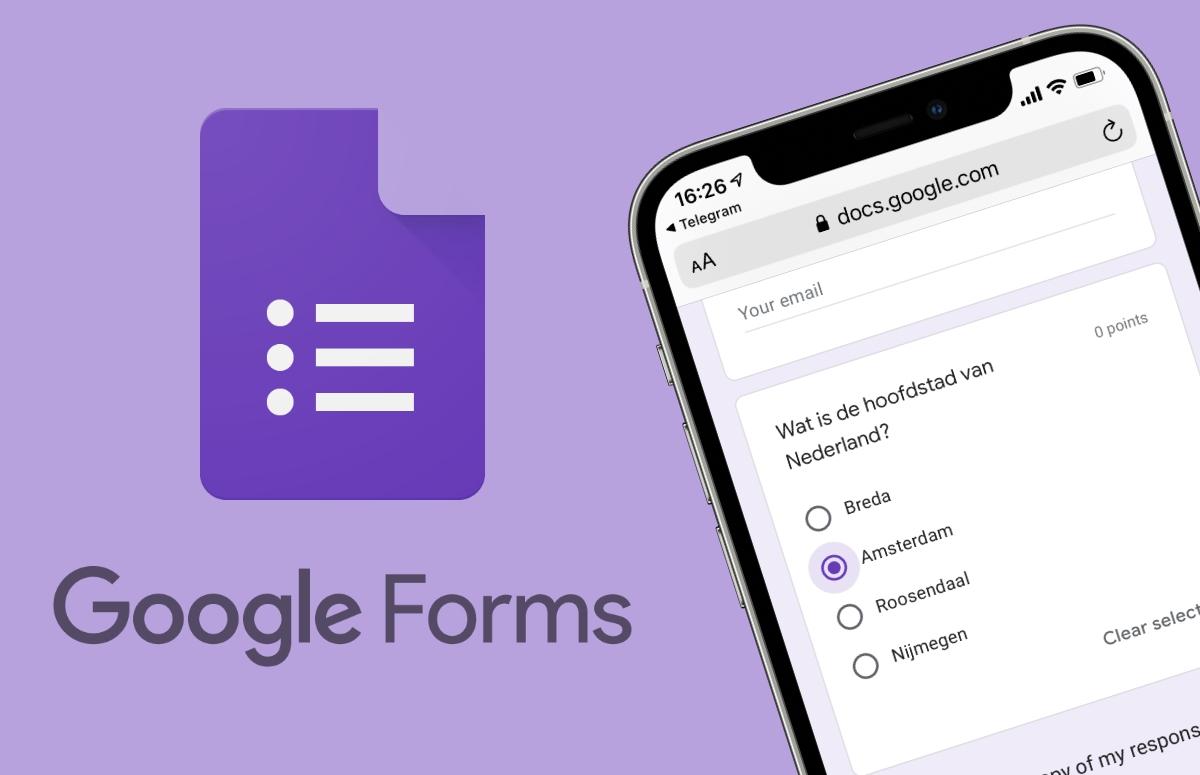 Tip: Zo maak je een digitale toets met Google Formulieren