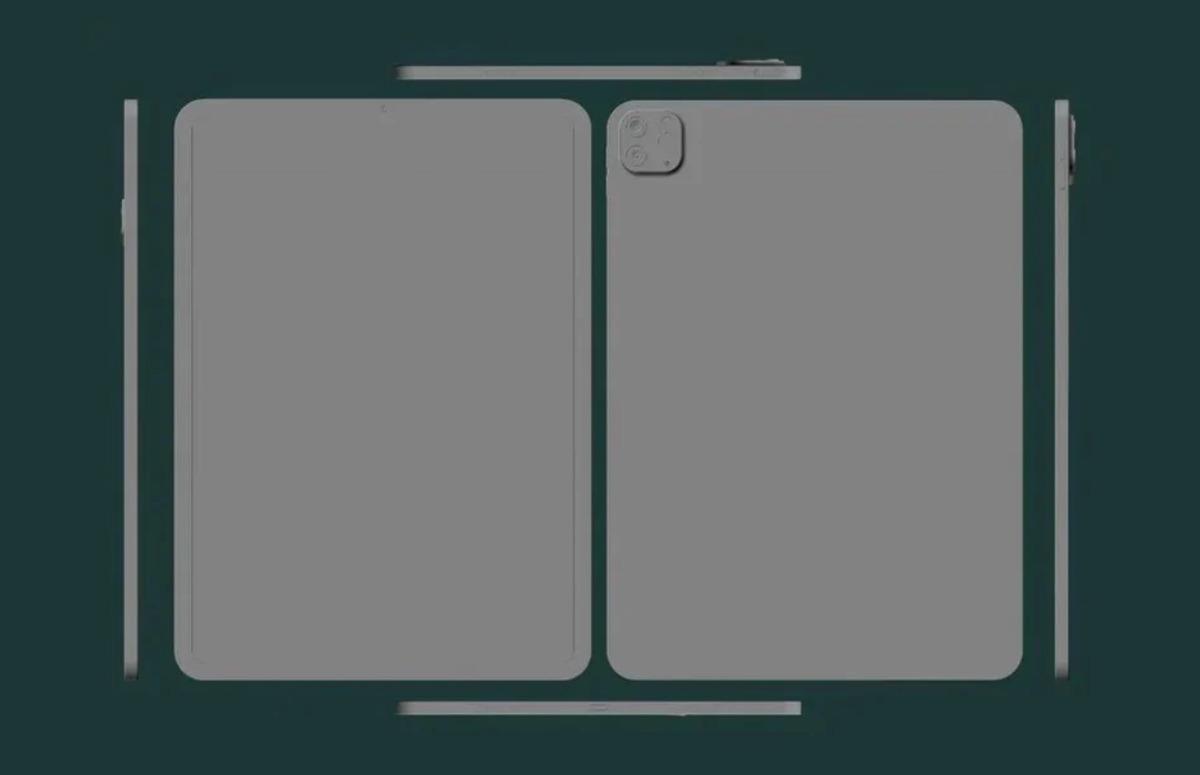 'Nieuwe iPad Pro heeft vertrouwd design, maar is iets kleiner'