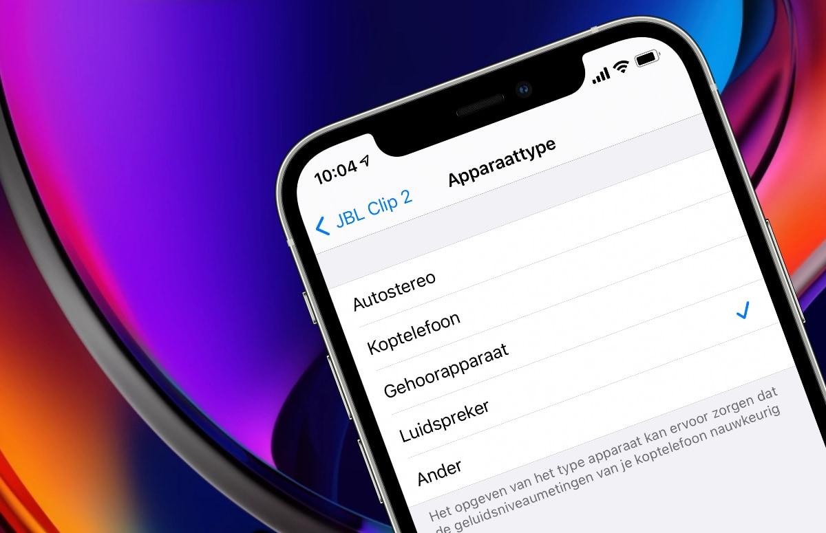 iOS 14.4: Zo geef je een bluetooth-apparaat een audiolabel (en waarom dit handig is)