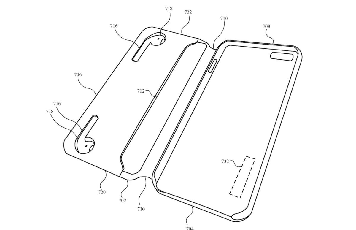 'Apple werkt aan iPhone-hoes met ingebouwde AirPods-lader'