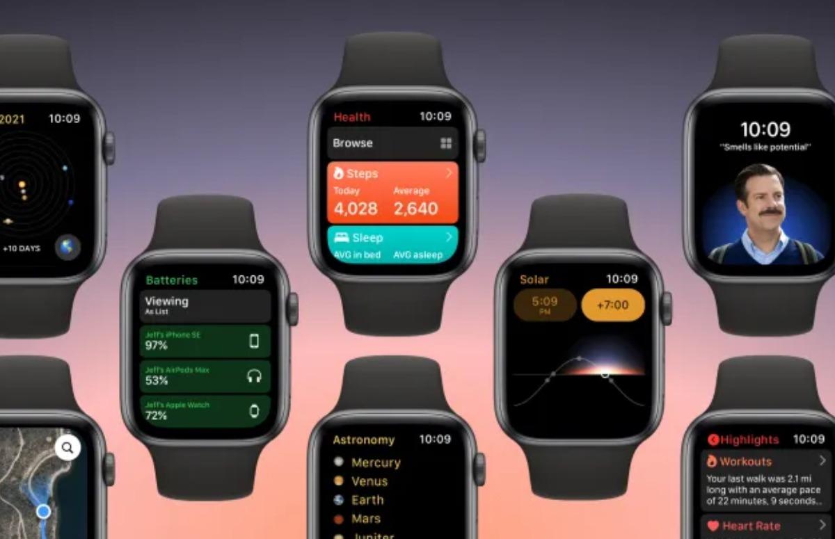 Concept: Hoe watchOS 8 widgets en nieuwe apps kan krijgen
