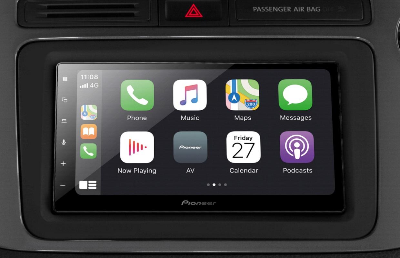 Met dit Pioneer-systeem werkt Apple CarPlay in nagenoeg elke auto (ADV)