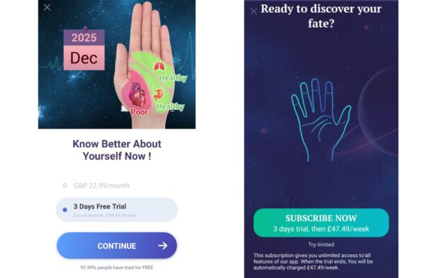 Fleeceware-apps