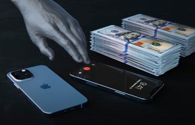 iPhone 13 Touch ID onder scherm