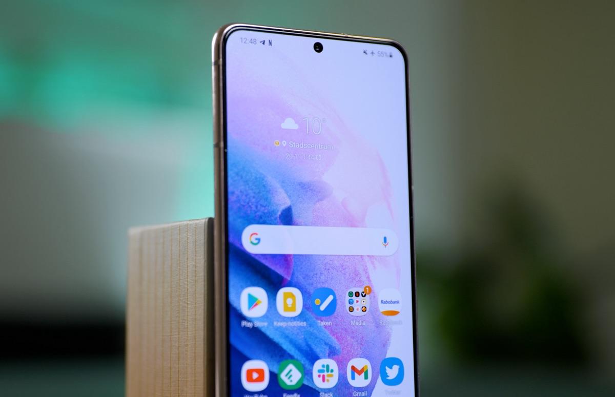 'iPhone 2022 heeft geen notch, maar gaatje in scherm zoals Samsung'