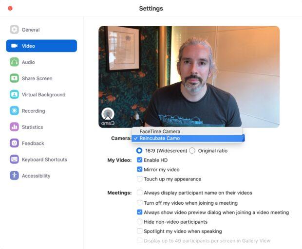 iPhone als webcam gebruiken