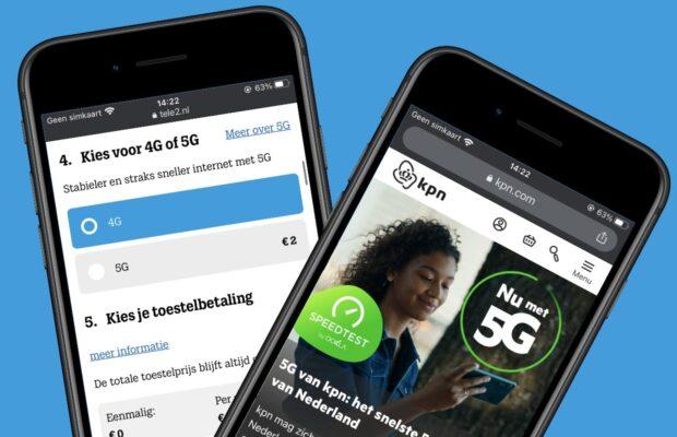 5g kosten nederland per provider