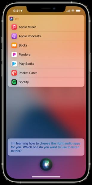 Siri Spotify iOS 14.5