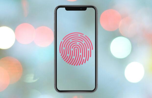 Touch ID onder scherm