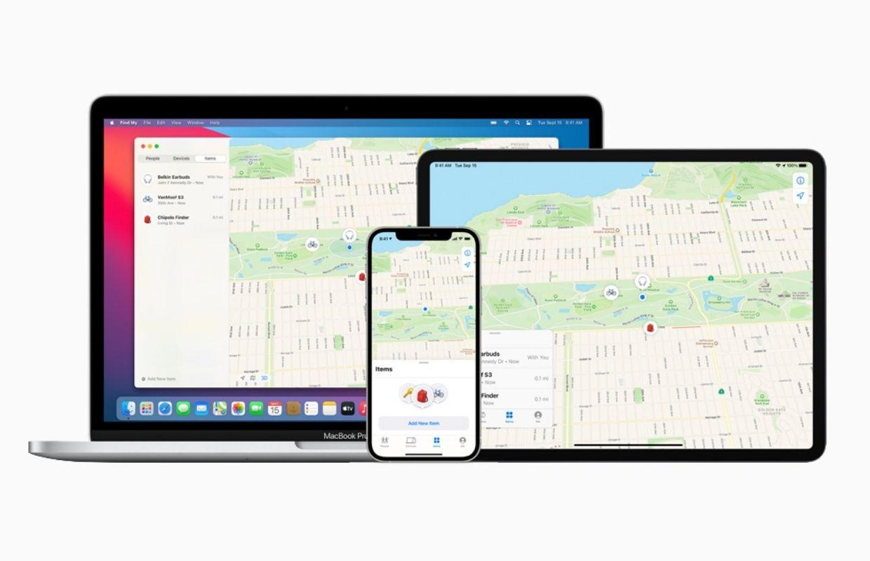 Zoek mijn-netwerk van Apple opengesteld voor accessoires van derden