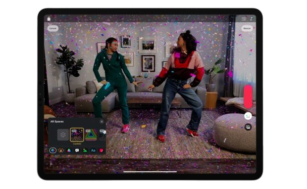 apple clips augmented reality