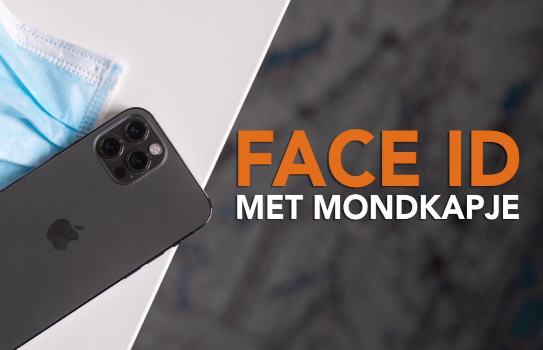 iOS 14.5: Zo gebruik je Face ID met een mondkapje