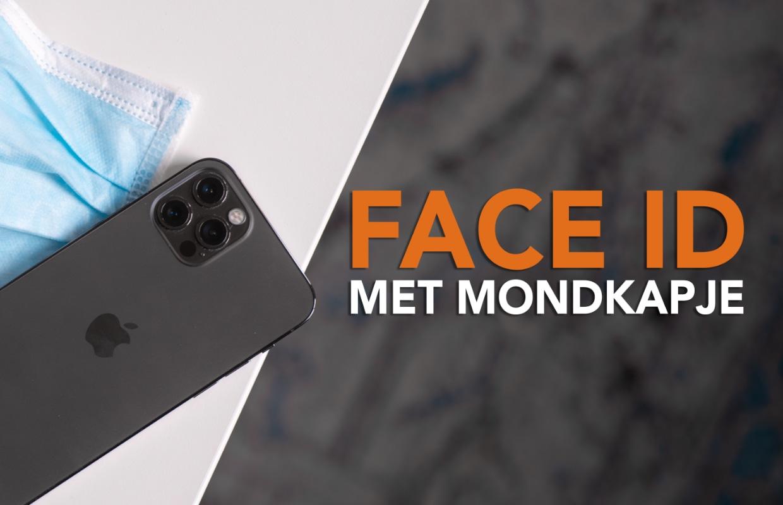 Video: Zo gebruik je Face ID met een mondkapje