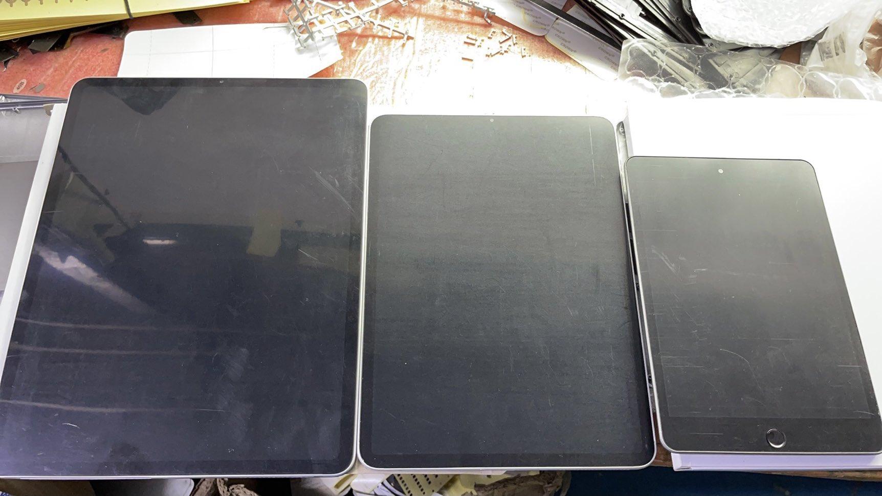 iPad mini 2021 dummy laat zelfde design zien, ook iPad Pro ...