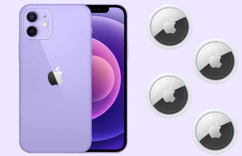 Paarse iPhone 12 en AirTag pre-orderen: zo vis je niet naast het net
