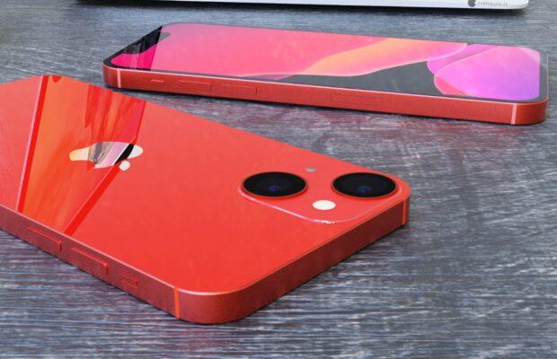 iPHone 13 mini renders camera opstelling