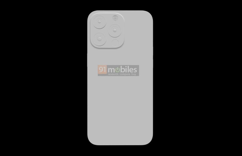 'iPhone 13 Pro-renders tonen een kleinere notch en iets dikker ontwerp'