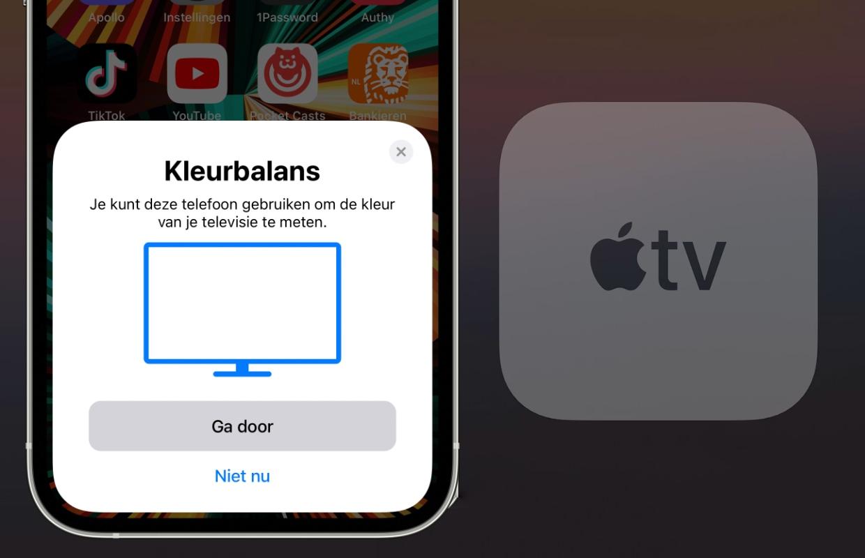 iOS 14.5: Stel je Apple TV optimaal in met behulp van je iPhone