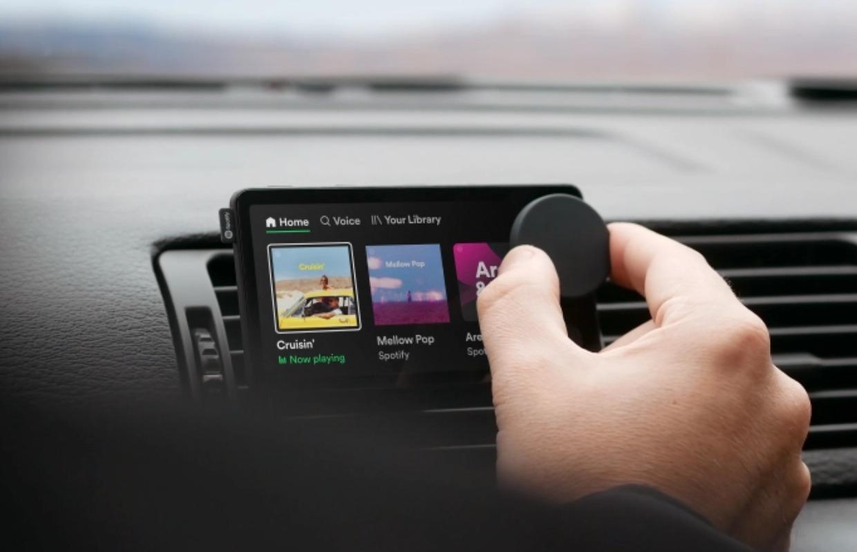 Spotify presenteert Car Thing: kleine muziekspeler voor oude auto's