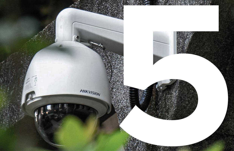 5 slimme beveiligingscamera's om inbrekers buiten de deur te houden