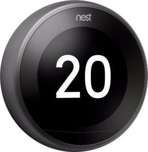 Slimme thermostaten vergelijken Google Nest Learning thermostat