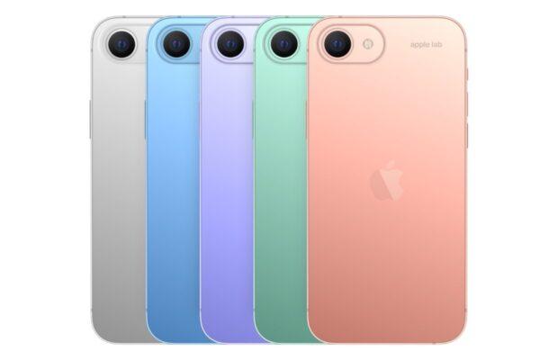 iPhone SE 2023 concept kleuren