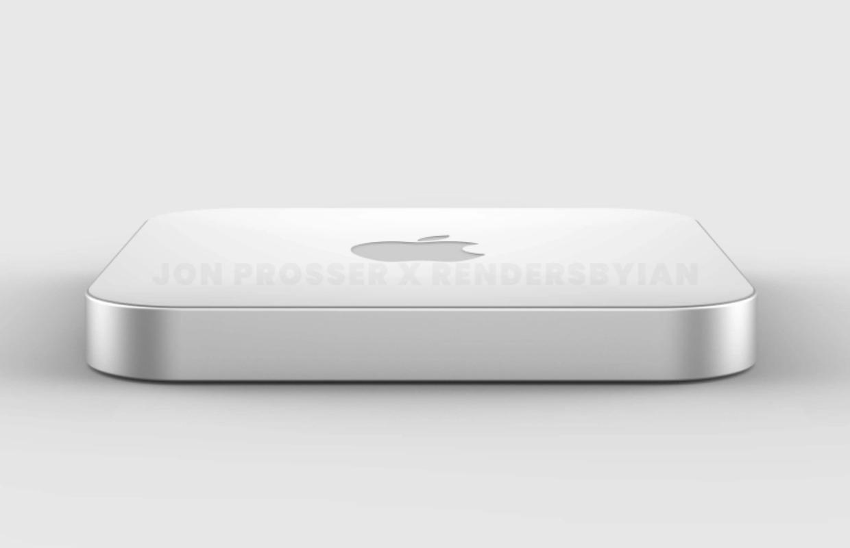 'Renders: Mac mini 2021 krijgt nieuwe Apple M1X-chip en wordt dunner'