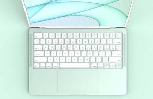 MacBook Air 2021 renders