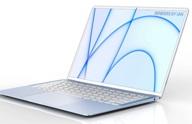 nieuwe macbook air renders