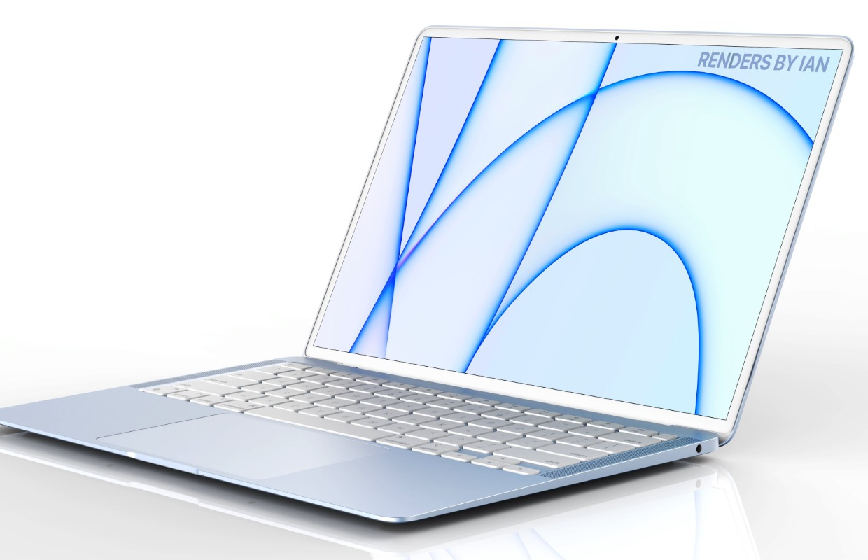 Hopelijk ziet de nieuwe MacBook Air eruit zoals dit concept