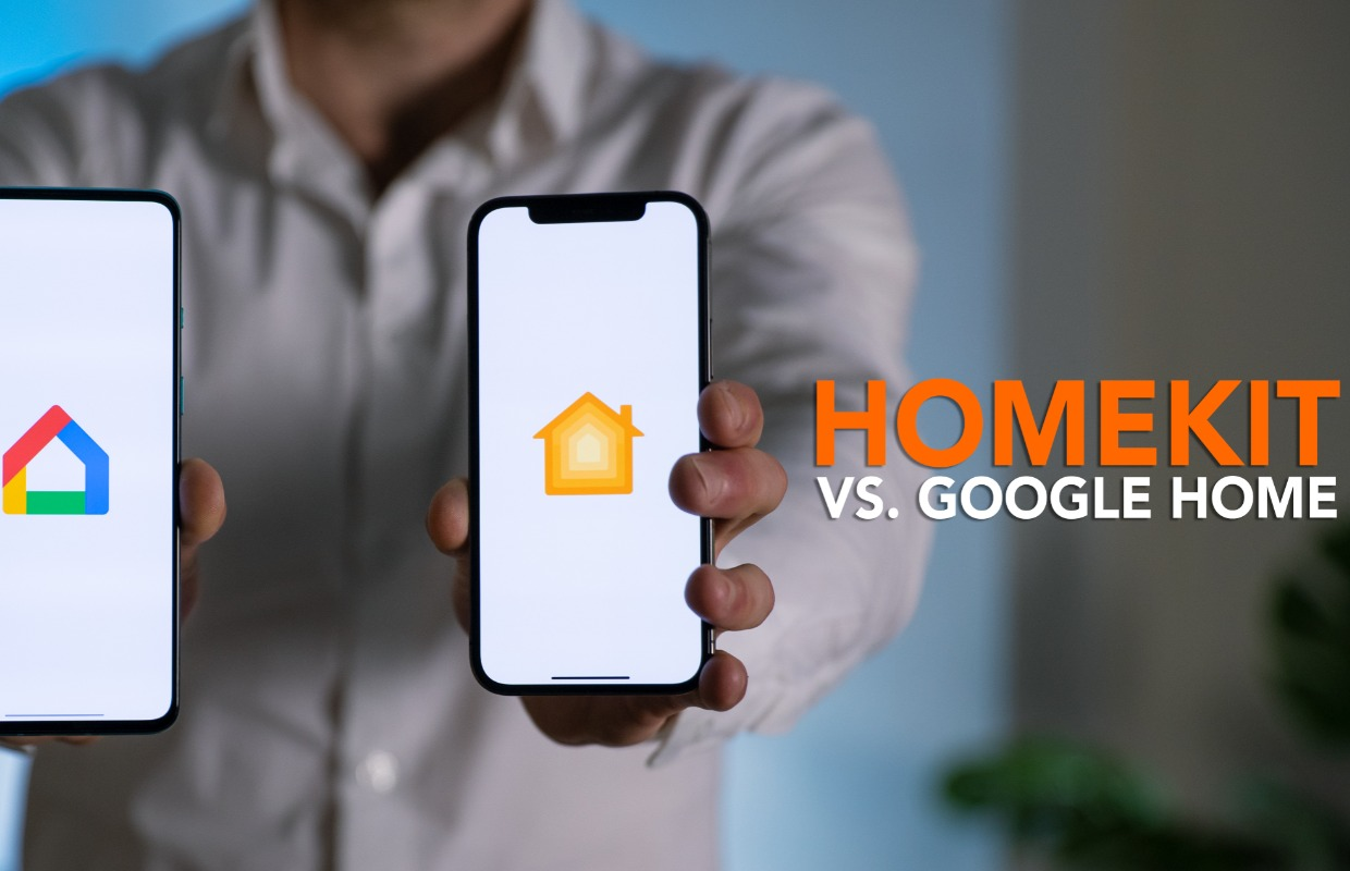 Apple HomeKit vs Google Home-video: dit smart home-systeem moet je hebben