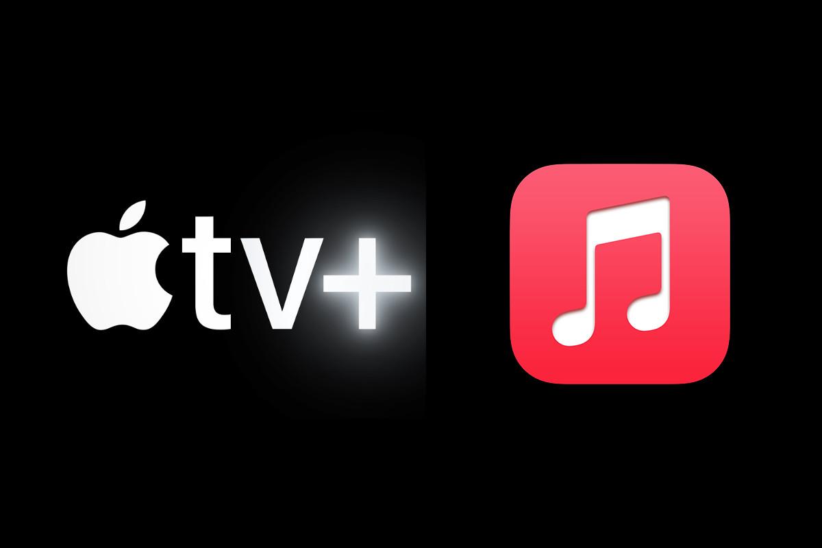 Apple Music en TV+