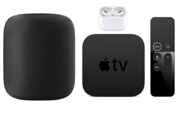 Apple audio en tv